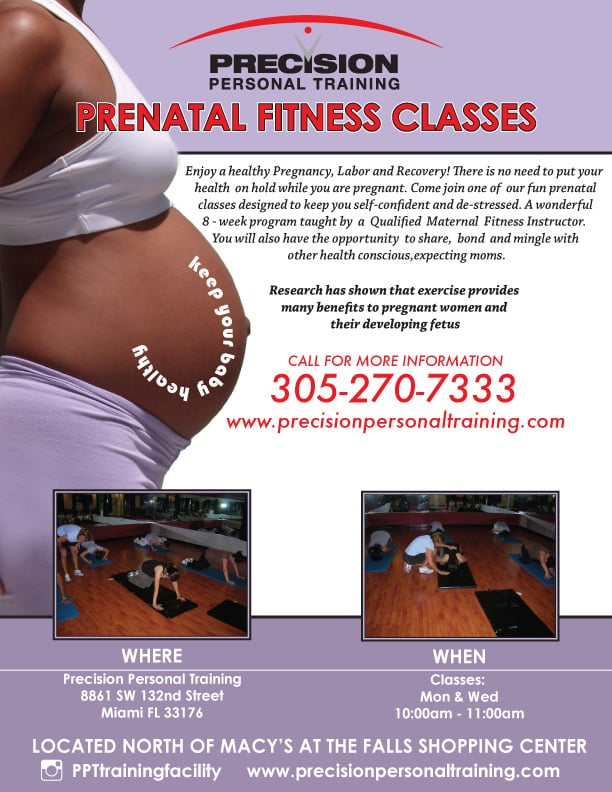 Prenatal-Fitness classes miami